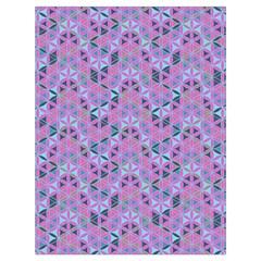 Sacred Geometry Pattern 2 Drawstring Bag (large)