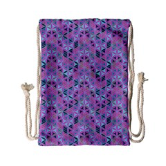 Sacred Geometry Pattern 2 Drawstring Bag (small)