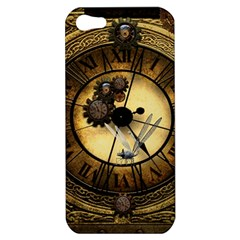 Wonderful Steampunk Desisgn, Clocks And Gears Apple Iphone 5 Hardshell Case