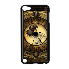 Wonderful Steampunk Desisgn, Clocks And Gears Apple Ipod Touch 5 Case (black)