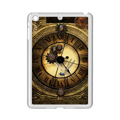Wonderful Steampunk Desisgn, Clocks And Gears Ipad Mini 2 Enamel Coated Cases