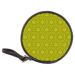 Flower Of Life Pattern Lemon Color  Classic 20 Cd Wallets