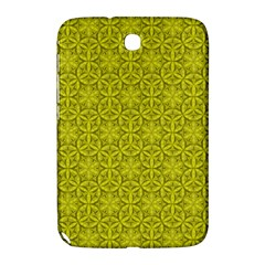 Flower Of Life Pattern Lemon Color  Samsung Galaxy Note 8 0 N5100 Hardshell Case