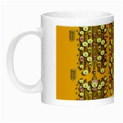 Rain Showers In The Rain Forest Of Bloom And Decorative Liana Night Luminous Mugs