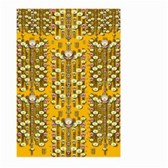 Rain Showers In The Rain Forest Of Bloom And Decorative Liana Large Garden Flag (two Sides)