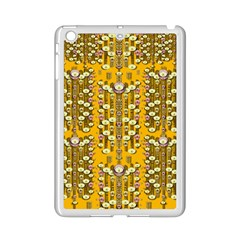 Rain Showers In The Rain Forest Of Bloom And Decorative Liana Ipad Mini 2 Enamel Coated Cases