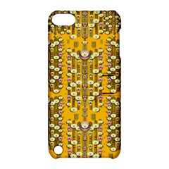 Rain Showers In The Rain Forest Of Bloom And Decorative Liana Apple Ipod Touch 5 Hardshell Case With Stand