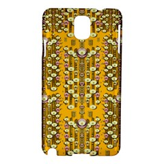 Rain Showers In The Rain Forest Of Bloom And Decorative Liana Samsung Galaxy Note 3 N9005 Hardshell Case