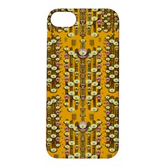Rain Showers In The Rain Forest Of Bloom And Decorative Liana Apple Iphone 5s/ Se Hardshell Case