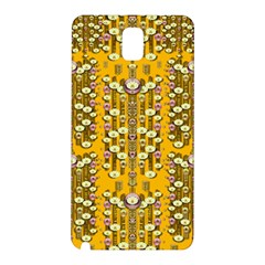 Rain Showers In The Rain Forest Of Bloom And Decorative Liana Samsung Galaxy Note 3 N9005 Hardshell Back Case