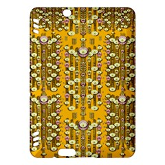 Rain Showers In The Rain Forest Of Bloom And Decorative Liana Kindle Fire Hdx Hardshell Case