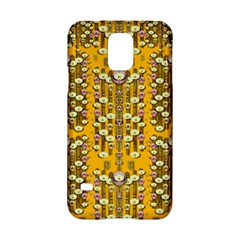 Rain Showers In The Rain Forest Of Bloom And Decorative Liana Samsung Galaxy S5 Hardshell Case