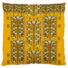 Rain Showers In The Rain Forest Of Bloom And Decorative Liana Standard Flano Cushion Case (one Side)