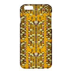 Rain Showers In The Rain Forest Of Bloom And Decorative Liana Apple Iphone 6 Plus/6s Plus Hardshell Case