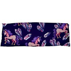 Unicorns Crystals Body Pillow Case Dakimakura (two Sides)