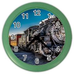 D&r Steam Train 484 Color Wall Clocks