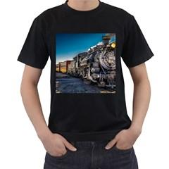 D&r Steam Train 484 Men s T Shirt (black)