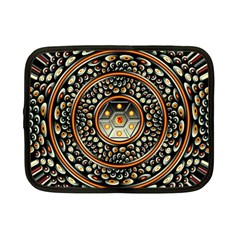 Dark Metal And Jewels Netbook Case (small)
