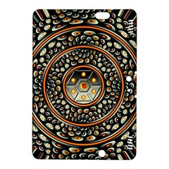 Dark Metal And Jewels Kindle Fire Hdx 8 9  Hardshell Case