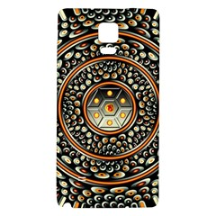 Dark Metal And Jewels Galaxy Note 4 Back Case