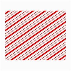 Candy Cane Stripes Small Glasses Cloth (2 Side)