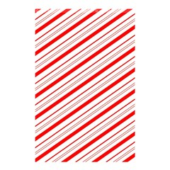 Candy Cane Stripes Shower Curtain 48  X 72  (small)