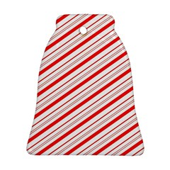 Candy Cane Stripes Ornament (bell)
