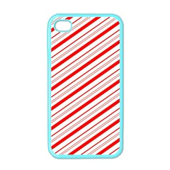 Candy Cane Stripes Apple Iphone 4 Case (color)