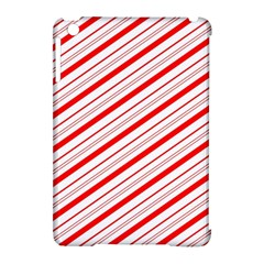 Candy Cane Stripes Apple Ipad Mini Hardshell Case (compatible With Smart Cover)