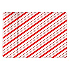 Candy Cane Stripes Samsung Galaxy Tab 10 1  P7500 Flip Case