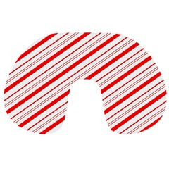 Candy Cane Stripes Travel Neck Pillows