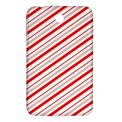 Candy Cane Stripes Samsung Galaxy Tab 3 (7 ) P3200 Hardshell Case