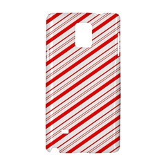 Candy Cane Stripes Samsung Galaxy Note 4 Hardshell Case