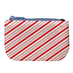 Candy Cane Stripes Large Coin Purse