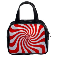 Peppermint Candy Classic Handbags (2 Sides)