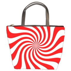 Peppermint Candy Bucket Bags