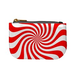 Peppermint Candy Mini Coin Purses