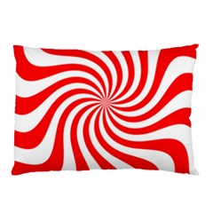Peppermint Candy Pillow Case (two Sides)