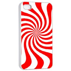 Peppermint Candy Apple Iphone 4/4s Seamless Case (white)