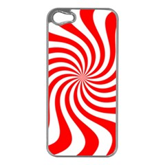 Peppermint Candy Apple Iphone 5 Case (silver)