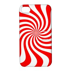 Peppermint Candy Apple Iphone 4/4s Hardshell Case With Stand