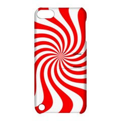 Peppermint Candy Apple Ipod Touch 5 Hardshell Case With Stand