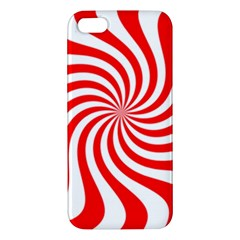 Peppermint Candy Apple Iphone 5 Premium Hardshell Case