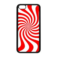 Peppermint Candy Apple Iphone 5c Seamless Case (black)