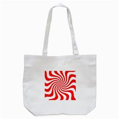 Peppermint Candy Tote Bag (white)