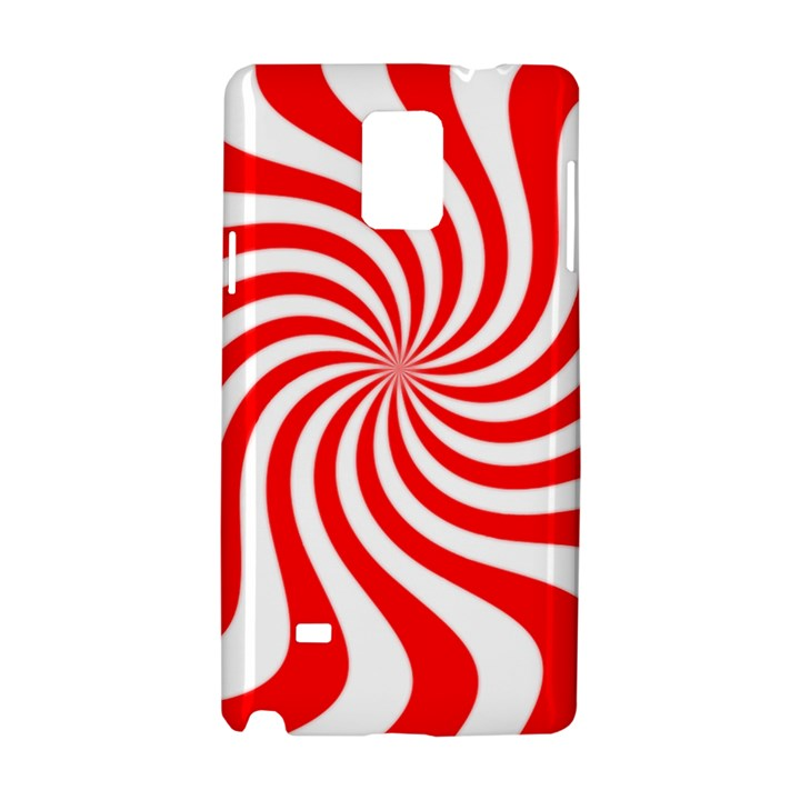 Peppermint Candy Samsung Galaxy Note 4 Hardshell Case