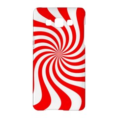 Peppermint Candy Samsung Galaxy A5 Hardshell Case