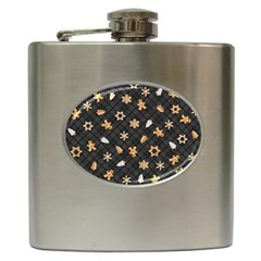 Gingerbread Dark Hip Flask (6 Oz)