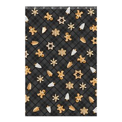 Gingerbread Dark Shower Curtain 48  X 72  (small)