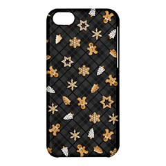 Gingerbread Dark Apple Iphone 5c Hardshell Case